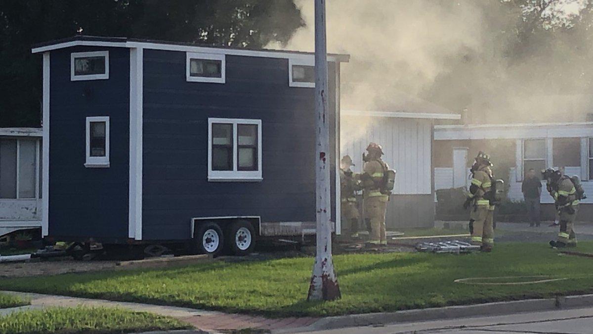 Tiny Home Fire