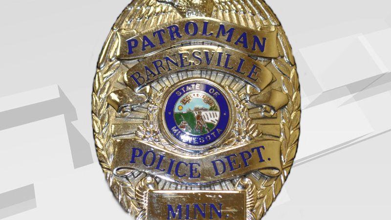 Barnesville, MN Police badge