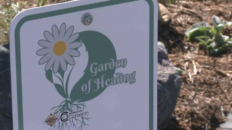 Garden of Healing ribbon cutting