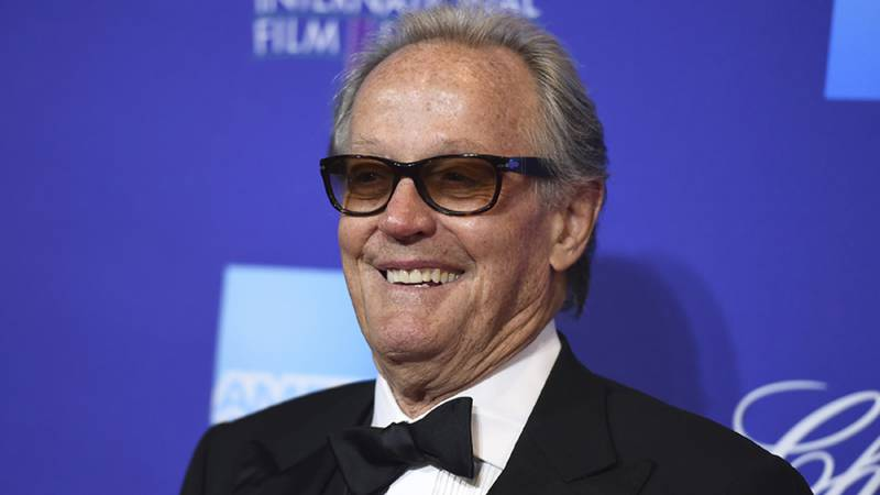Peter Fonda arrives at the 29th annual Palm Springs International Film Festival on Tuesday,...