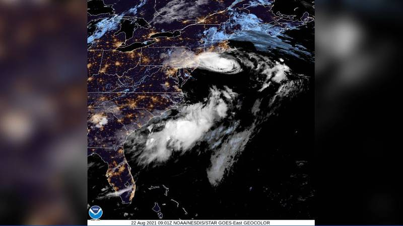 Hurricane Henri edged closer to landfall as millions on New York's Long Island and in southern...