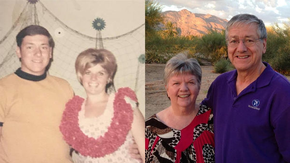 Chuck and Lorraine were together for 48 years – and didn't spend a day apart.