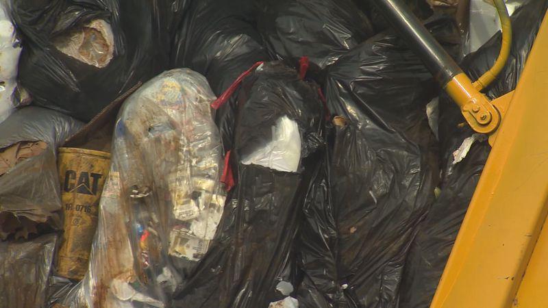 Garbage truck file photo