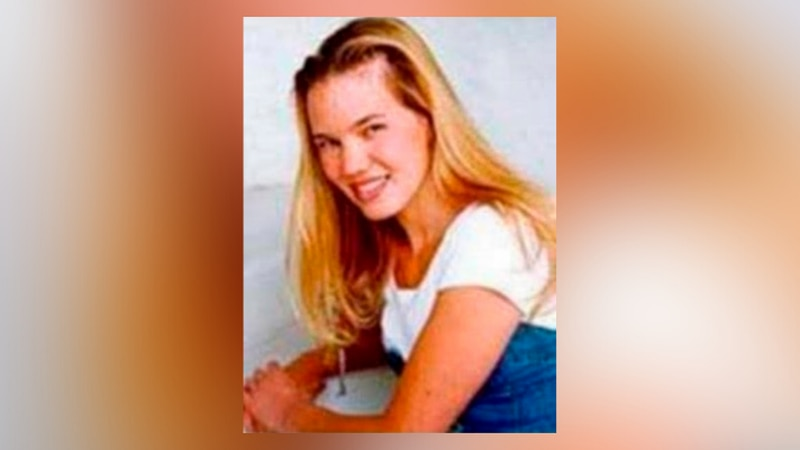 FILE - This undated photo released by the FBI shows Kristin Smart, the California Polytechnic...