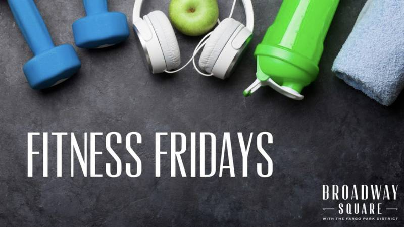 Fitness Friday's is a group that meets every Friday at Broadway Square to get a workout in....