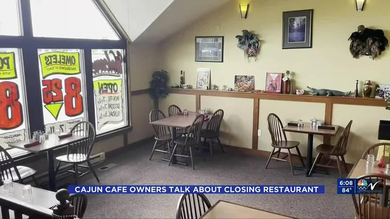News - Cajun Cafe Closes
