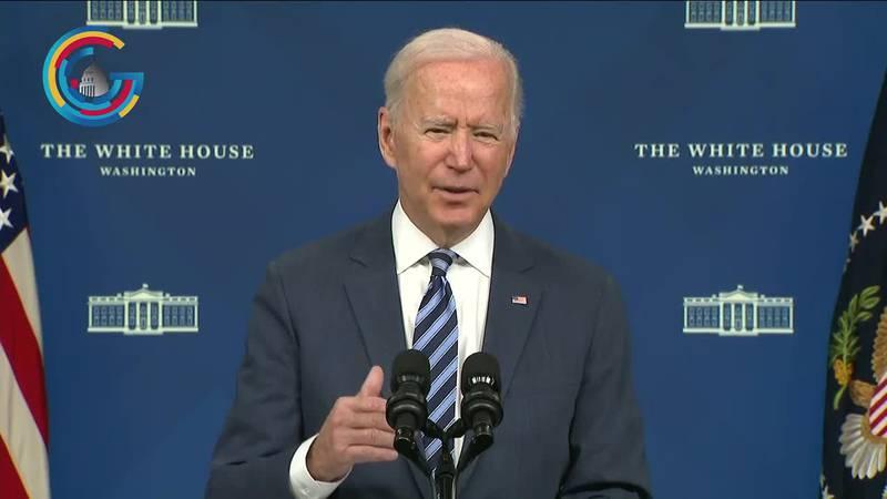 President Biden outlines Hurricane Ida response ahead of Louisiana trip