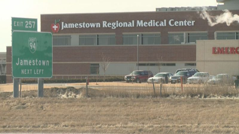 The suspect was taken to the Jamestown Regional Medical Center to be treated for injuries from...