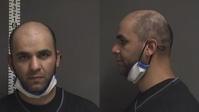 32 year old Hamid Han Zuri of Fargo was arrested after prying open an overhead door and...