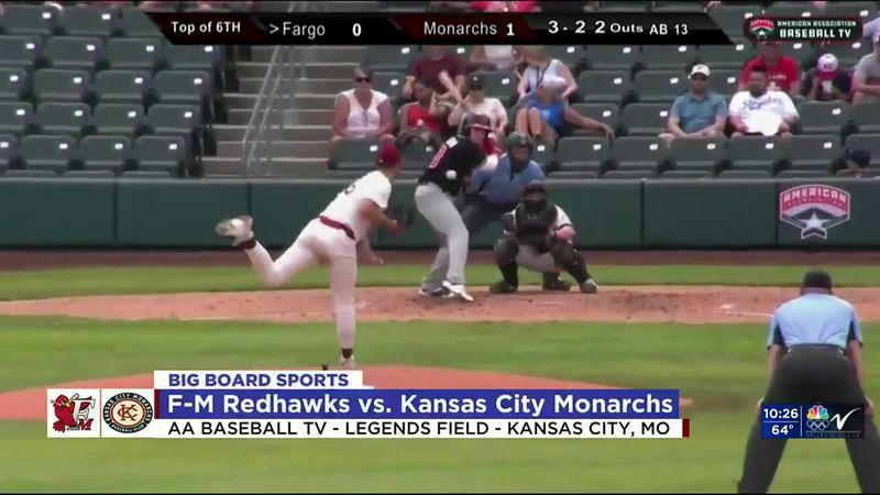 Sports - Redhawks Fall To Kansas City 2-1 - May 23