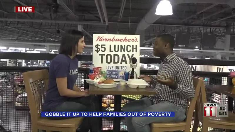 The community is invited to have a lunch with United Way to help families in need. Each meal...