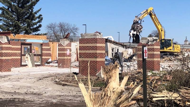 Work underway to tear down and rebuild