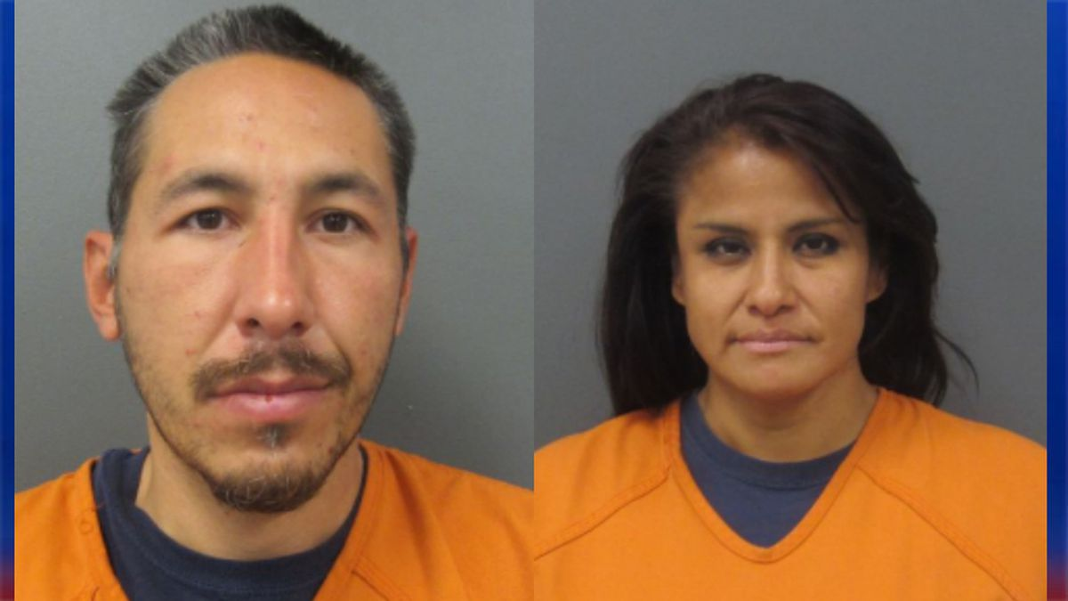 Derek Fairbanks (left) and Linda Miller (right) were arrested for burglary.  Not pictured, Daisy Butcher was arrested for burglary, obstructing legal process and criminal damage to property.