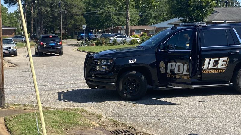 A suspect is in custody after two officers were wounded after responding to a shooting scene in...