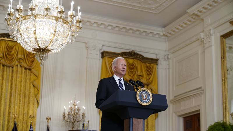 Watch live coverage as President Biden delivers remarks on Afghanistan and efforts to evacuate...