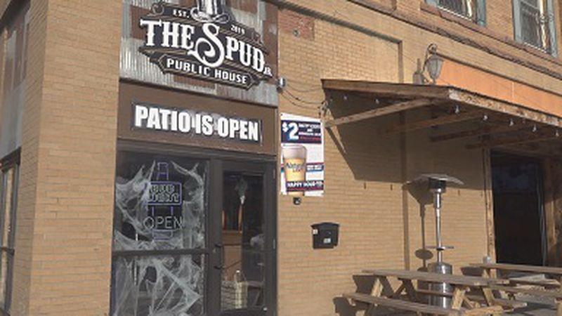 The Spud East Grand Forks bar