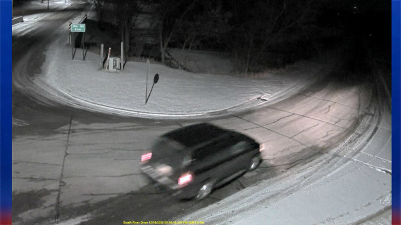 Authorities are searching for this car involved in a hit-and-run in Frazee, MN.