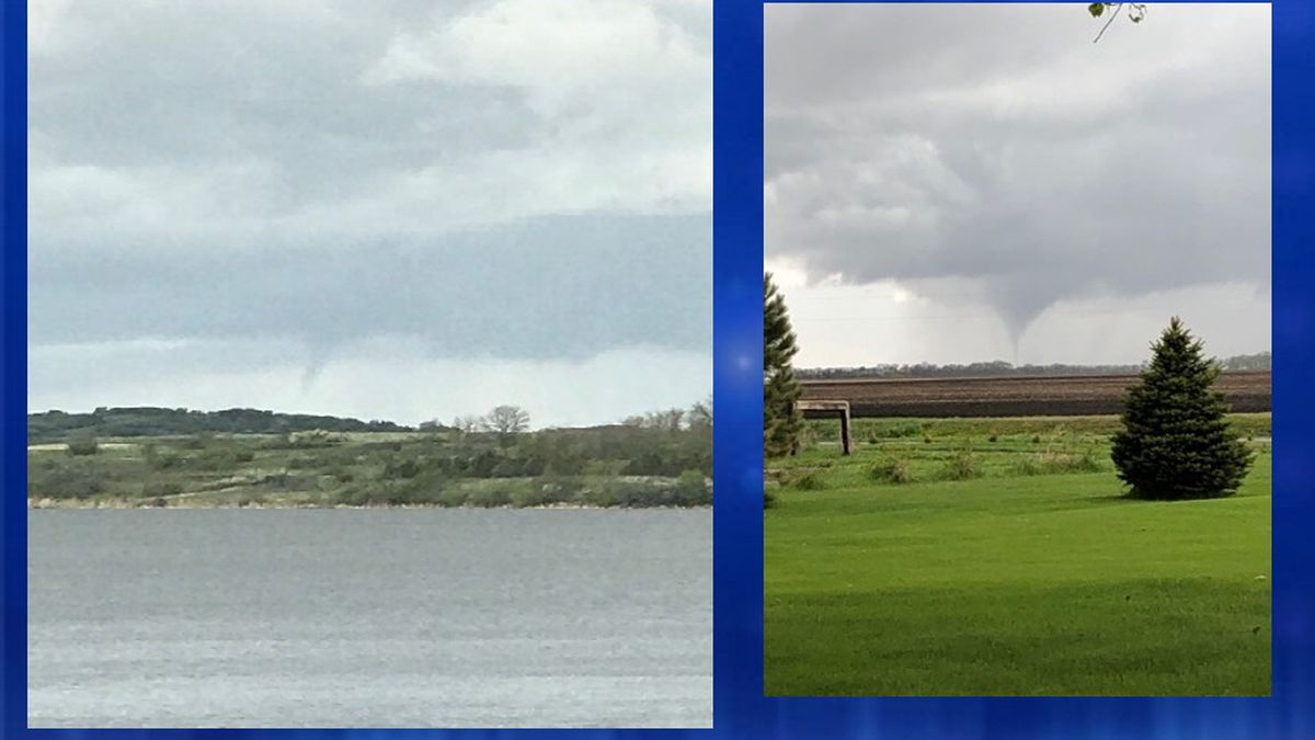Tornado touched down in Barnes County, possible structure ...