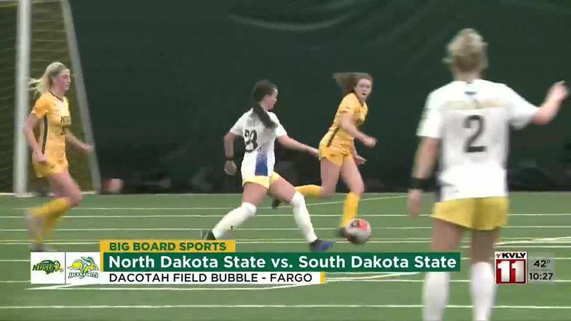 Sports - Bison Women Fall to SDSU 1-0