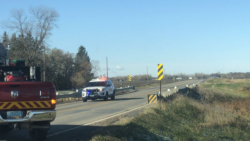 One female and one male have died after a collision accident with a passenger van and tractor...