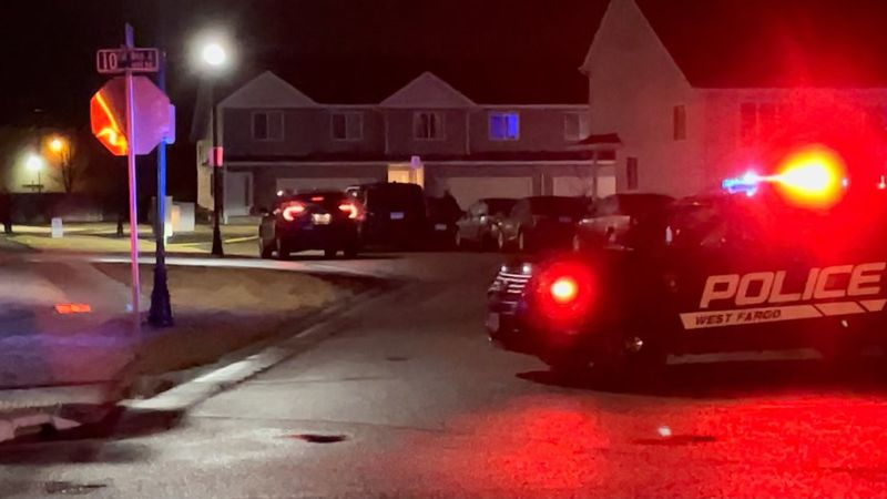 West Fargo PD were on scene for reported gunshots on 11th Ave E. at the 1500 block.