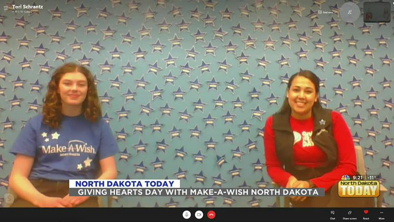 NDT - Giving Hearts Day with Make-A-Wish North Dakota