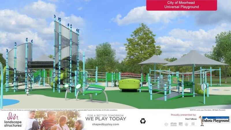 The prime location to build this playground would be Miracle Field. The closest inclusive...
