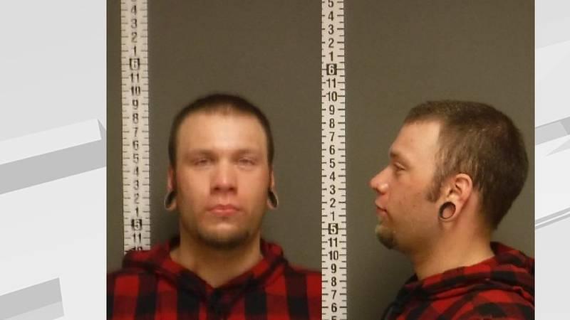 Olson's mugshot from 06/03/21