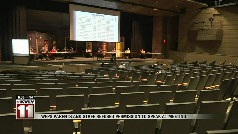 One local group is upset after they were told they couldn't voice their concern at a West Fargo...