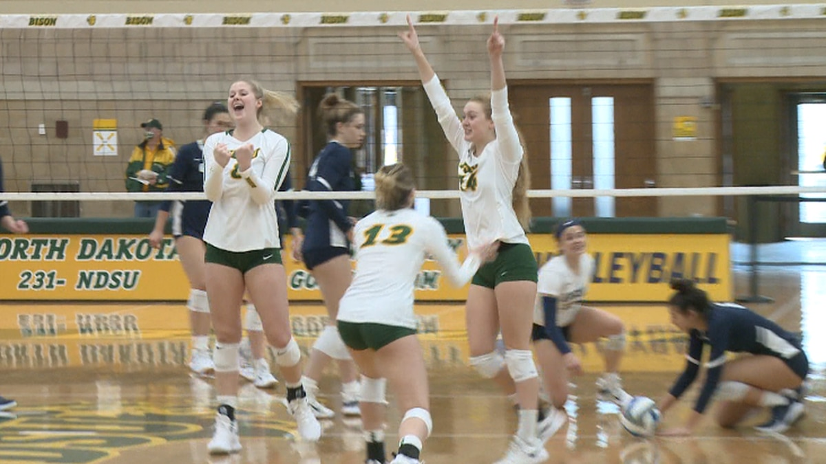 The Bison Celebrate a block from Kelley Johnson