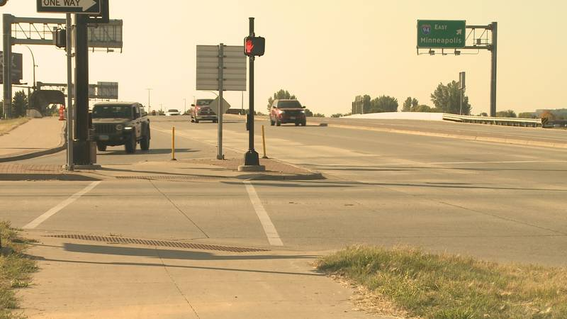 Kid hit by vehicle in south Fargo