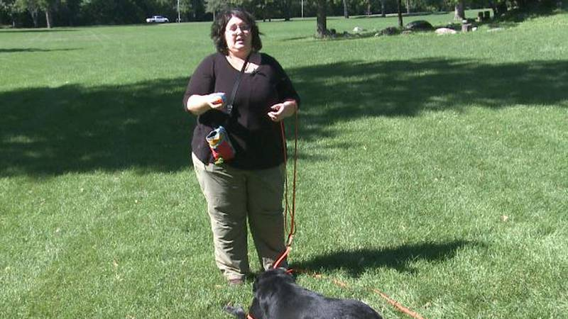 Bailey Stickney, Owner of Laughing Dog training in Moorhead