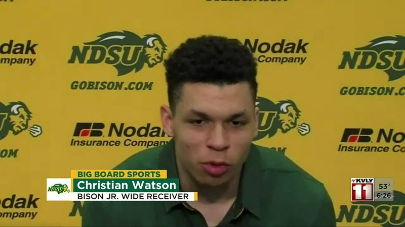 Sports - Bison Staying Focused For USD
