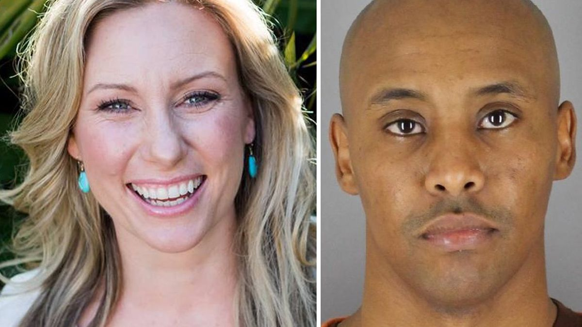 Justine Ruszczyk and Mohamed Noor