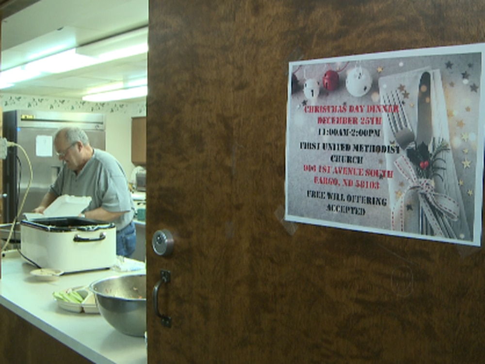 Fargo man continuing to give back to community, serving warm meals