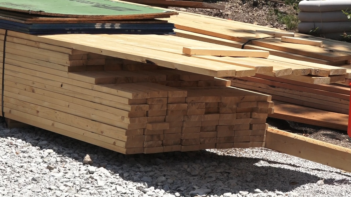 File photo of building materials.