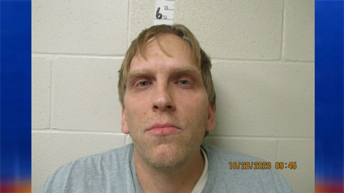 Anthony Raymond, 33, is arrested on terrorizing charges.