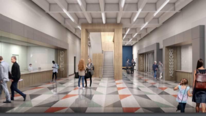 Minot city hall proposal