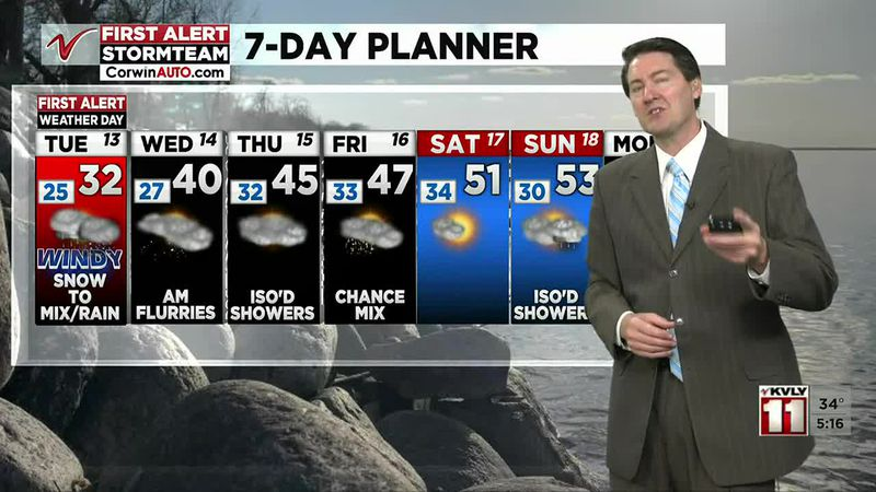 5:00 PM Weather April 12
