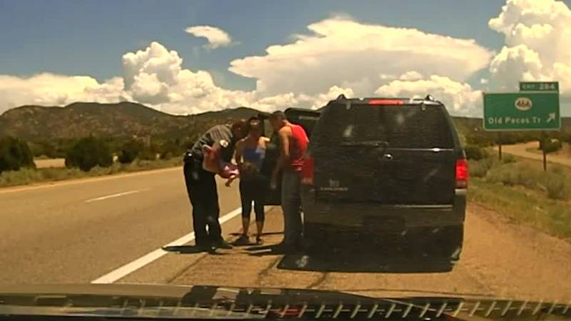 A deputy in New Mexico saved a choking child's life, and it was captured on his dashcam.
