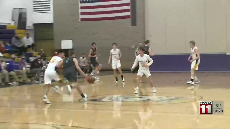 Sports -Grand Forks Central over Wahpeton 84-68
