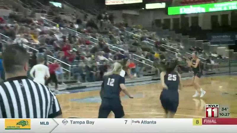 Sports - Girl's Class A Basketball Championship: Bismarck Century Defeats Fargo Davies 58-47