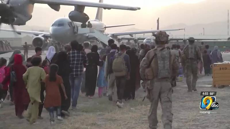Afghanistan evacuation.
