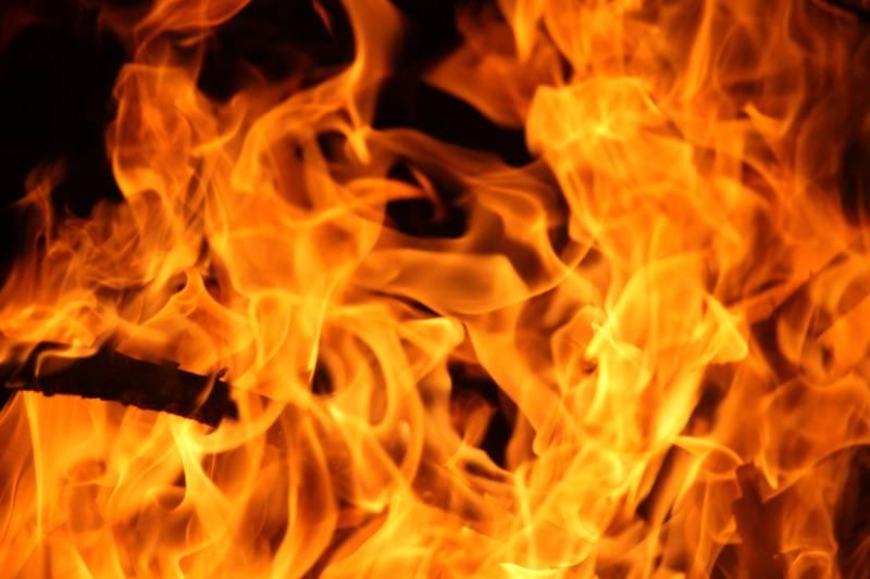 Blurrd Blaze fire flame texture background.