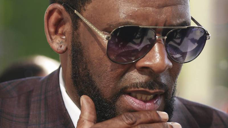 FILE - This photo from Wednesday June 26, 2019, shows R&B singer R. Kelly arriving at the...