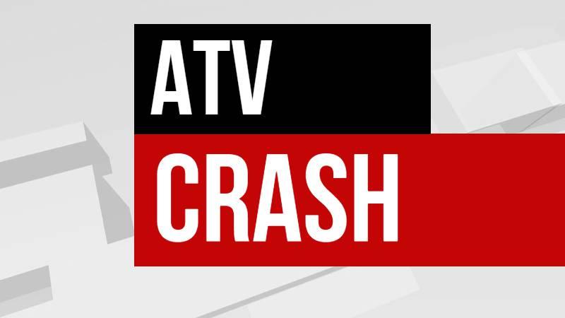 ATV crash graphic