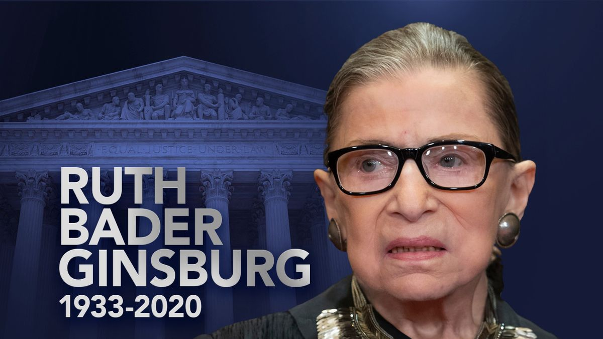 Justice Ruth Bader Ginsburg, a longtime supporter of equality, has died at 87, of cancer.