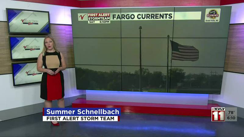 Weather at 6:00PM Saturday KVLY September 18 2021