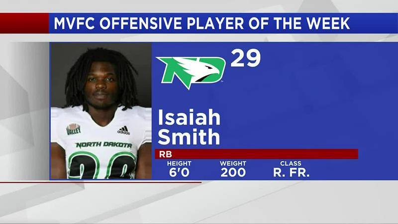 Sports - Smith earns MVFC Offensive Player of the Week