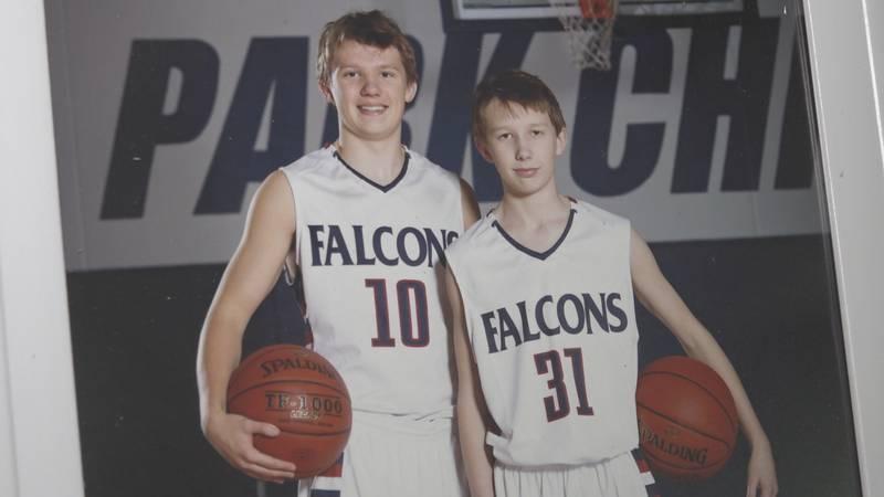 Zach and Connor Kvalvog